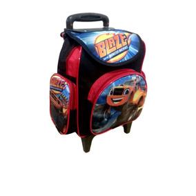 Mochila Escolar Infantil Carros Blazer Monster Machine