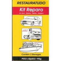 Kit Restauratudo Reparo Cola Parachoque (vedachoque) 190gr
