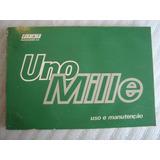 Manual De Uso E Manutenção Do Fiat Uno Mille 91