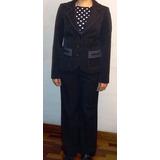 Sastre Para Mujer Kleider Negro Talla S