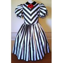 Vestido Importado Fiesta Cortejo Nena Niña 10-12 Años Usa