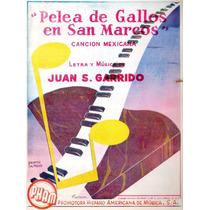 Pelea De Gallos En San Marcos Juan S. Garrido
