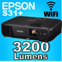 Proyector Epson S31+ 3200lum Hdmi Wifi + Bolso 12 Cuotas S/i