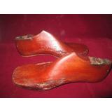 Horma De Zapatos Antigua Madera Decoración Tienda De Calzado