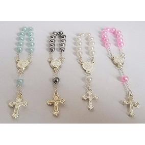 40 Mini Terço Para Lembrancinhas Religiosa - Tercinho