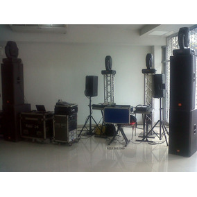 Equipo Completo De Audio Profesional Jbl Crown Rcf Prx
