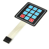 Teclado Membrana Matricial 4x3 12 Teclas Keypad Arduino Pic