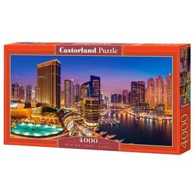 Quebra Cabeça Castorland - Marina Pano, Dubai - 4000 Peças