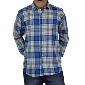 Camisa A Cuadros Modelo 13208 Canada Twill Hombre Mistral
