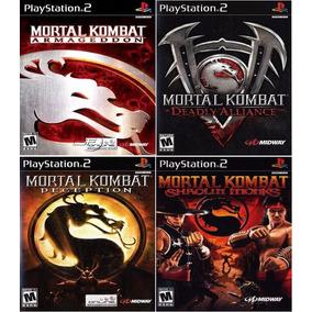 Mortal Kombat Collection 4 Games - Patch P/ Ps2 Desbloqueado