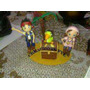 Jake Y Los Piratas, Aviones Cars Toys Storie En Porcelana