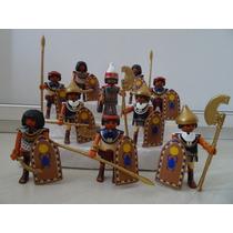 Playmobil History Egito Cd 1 Guerreiro Unid Monte Sua Tropa