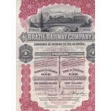 Brazil Railway Comp - 86101 - 1912 - Preferred Share