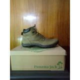 Zapato Panamá Jack 100% Cuero Color Beige N° 39, 42 Y 43.