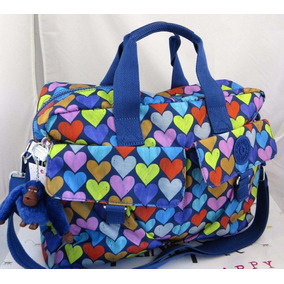 Pañalera Kipling Modelo New Baby Bag Estampada