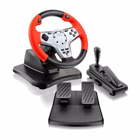 Control Simulador Volante Pedalera Pc Ps2 Ps3