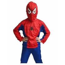 Fantasia Infantil Homem-aranha + Lança Teias Spider-man