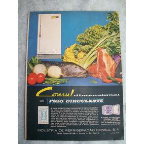 Propaganda Antiga Refrigerador Consul