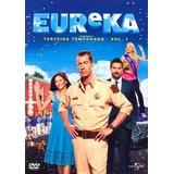 Dvd Serie Eureka 3a Temp Vol 1 Lacrado 2 Discos 8 Episodios