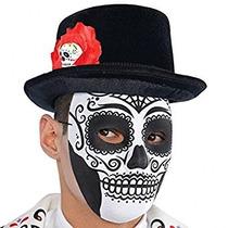 Disfraz El Día Del Sombrero Muerto Superior De Accesorios D