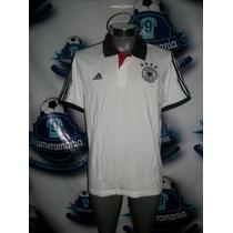 Playera Polo Oficial Adidas Selección Alemania 2016-2018