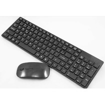 Kit Teclado + Mouse Wireless S/ Fio 1600 Dpi Smart Tv Notebo