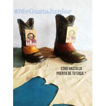 Bota Vaquera Rodeo P/adulto Y Niño Desde $399 Envio Gratis!!