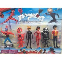 Brinquedo Miraculos Lady Bug E Chat Noir E Seus Amigos