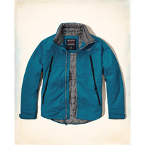 Jaqueta Hollister Forrada All Weather Jacket Novo Original