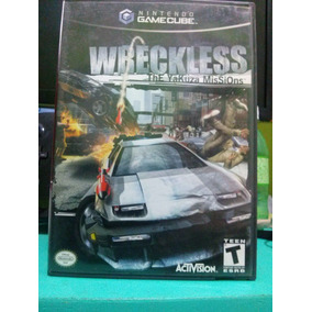 Wreckless Yakuza Missions Game Cube Americano