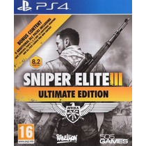 Sniper Elite 3 Ultimate Edition Ps4 Psn Original
