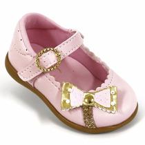 Sapatilha Sapatinho Feminina Bebê Betinha Pink Festa Menina