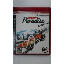 Ps3 Burnout Paradise $385 Pesos - Seminuevo - Vendo / Cambio