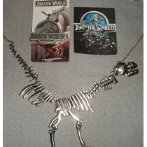 Paquete Exclusivo Collares Y Aretes De Jurassic Park