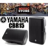 Yamaha Cbr15 Bafle Monitor Pasivo 500w Rms Rango Extendido