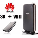 Modem E Roteador 3g Huawei B260 Com Entrada De Antena Rural