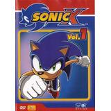 Dvd Sonic X Vol.1 - Original E Lacrado
