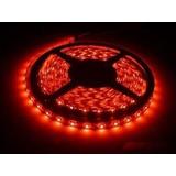 Fita Led 3528 Vermelha 300 Leds 5 Metros Super Luz Clar 12v