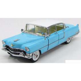 Greenlight 1955 Cadillac Fleetwood, 1:18, Azul