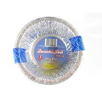 36 Desechable De Aluminio Cazuela Sartenes Con Tapas