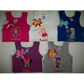 Franelillas, Camisetas Ovejitas Bordadas Personalizadas