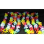Collares Hawaianos Tela Multicolor Pack X 12