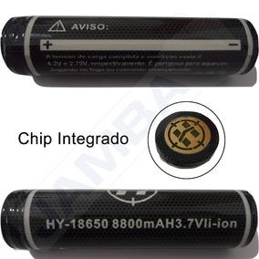 Bateria 18650 Original Hy Potencia De 8800mah 12hrs De Uso