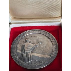 Medalha Do Papa Em Prata
