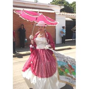 Vestido 15 Años O Disfraz Dama Antañona