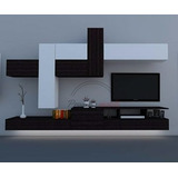 Mueble Modular Moderno Lcd Living Progetto Mobili