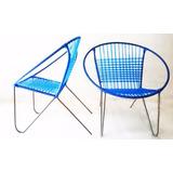 Zanine - Cadeira Ferro Varanda Anos 70 - Antiquário Brasil.