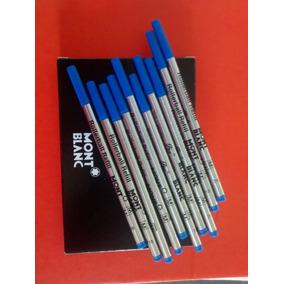 Carga Refil Rollerball Azul Montblanc Made Germany