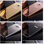 Funda Bumper Case Aluminio Espejo Samsung S4