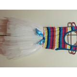 Vestido De Fiesta De Nena Importado Talle 6 Años